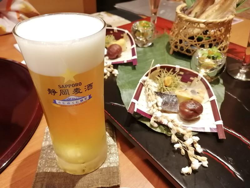 玉翠‐生ビール