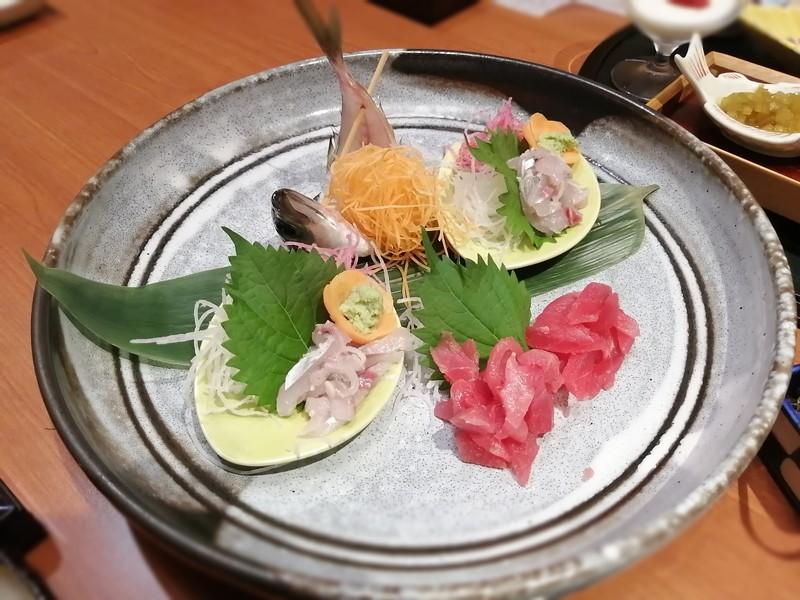 玉翠‐朝食‐刺身